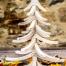ALbero di NAtale in legno ALBERTINO bianco
