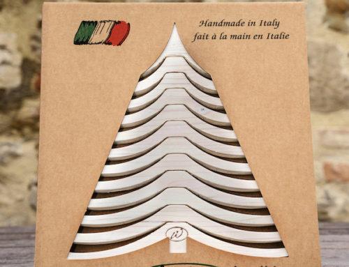 Wooden Christmas Tree ALBERTINO, White