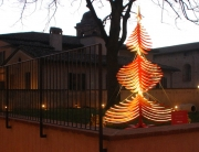 Wooden christmas tree ALBERT Steve McCurry Perugia