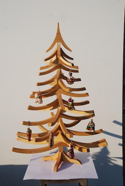 albero di natale in legno Albert 100cm