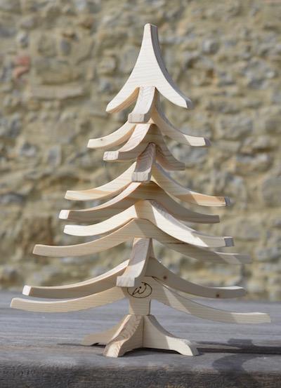 albero di natale in legno albert 50 cm