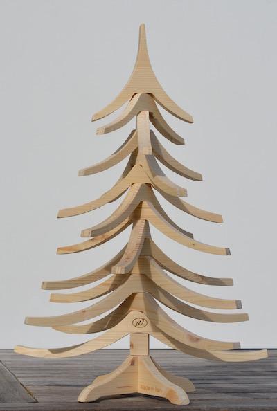 albero di natale in legno albert 70cm